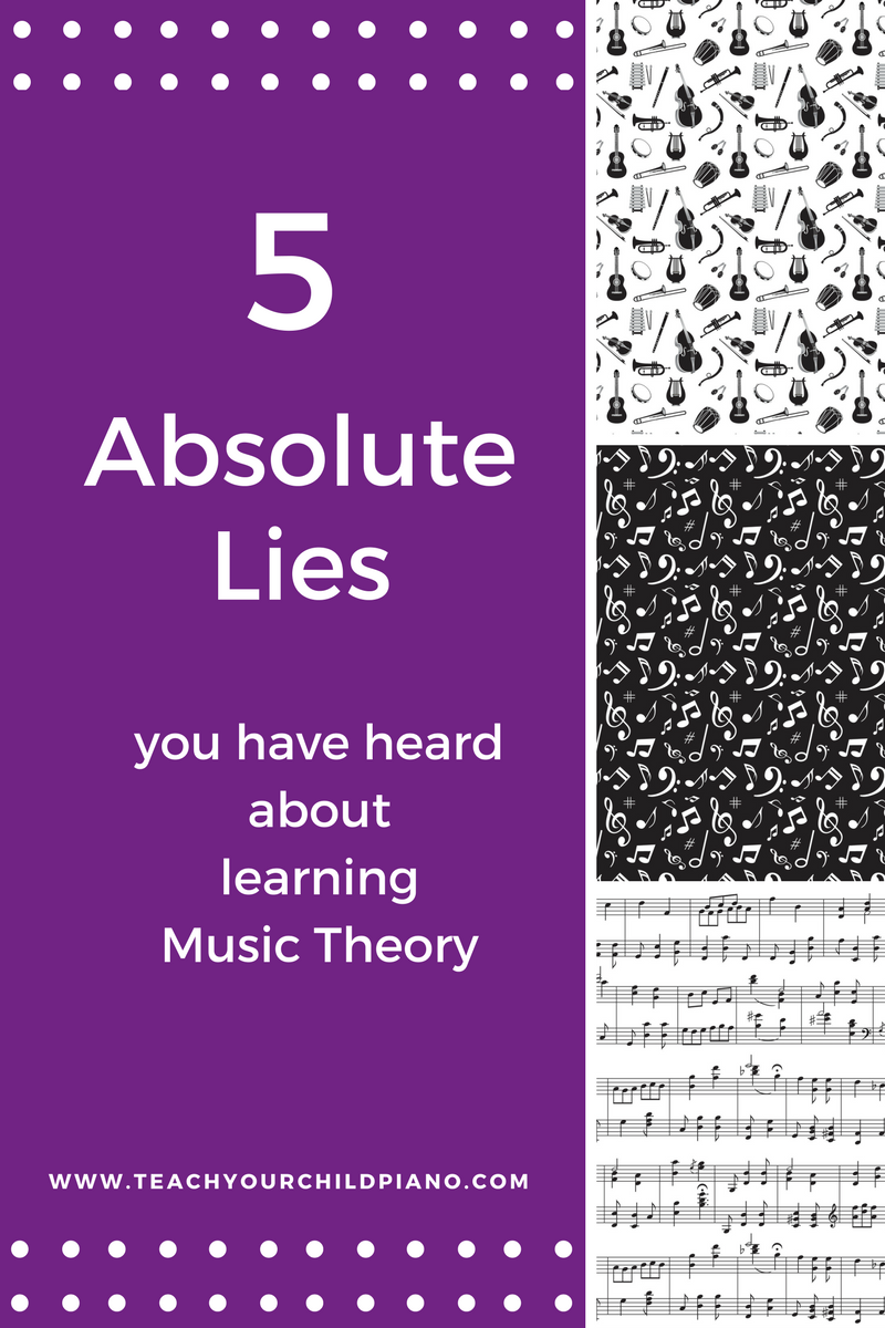 Have you always thought that kids and beginner piano students don't need to learn music theory? Then think again. Read this article to understand why it is important.